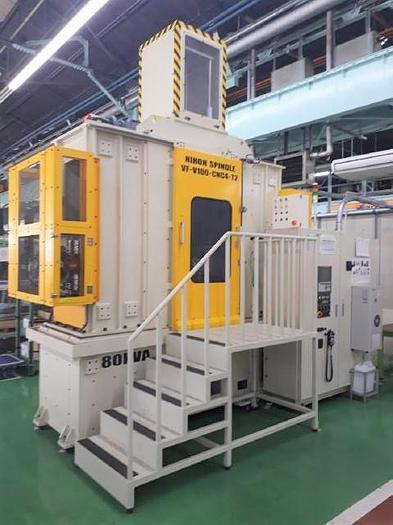 2017 Nihon Spindle Forming Machine VF-V100X-CNC4-T2Z