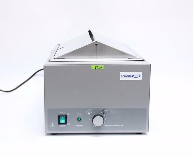 Used VWR Scientific 1213 Heated Water Bath 18.5 L Capacity (2472A)