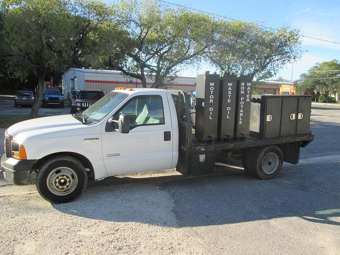 Used 2006 Ford F350 XL Fuel and Lube Truck