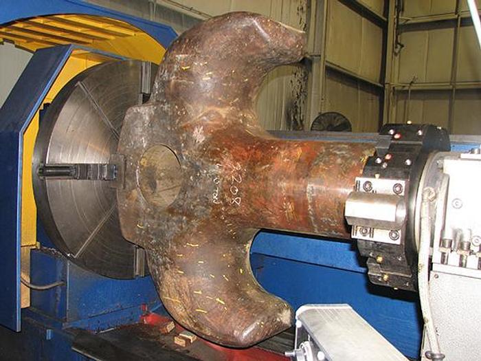 2006 RYAZAN MODEL RT317RF3-6 LARGE CAPACITY CNC LATHE