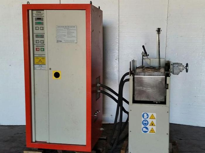 18 KW,  FIOA/CEIA Model F16-D/400 Induction Melting System