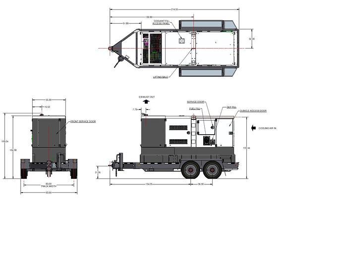 2020 Atlas Copco QAS 330 JD T4F