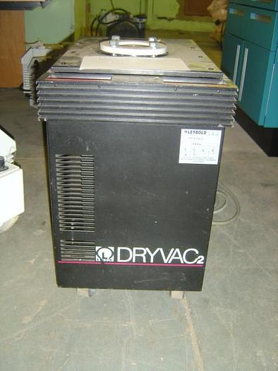 Used Leybold   Dryvac2 Dry Pump DRYVAC250B