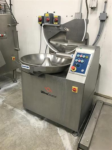 Used RAMON ULTRA SOURCE 40L BOWL CUTTER CHOPPER MEAT SAUSAGE VEGETABLES CHEESE 729C 40L