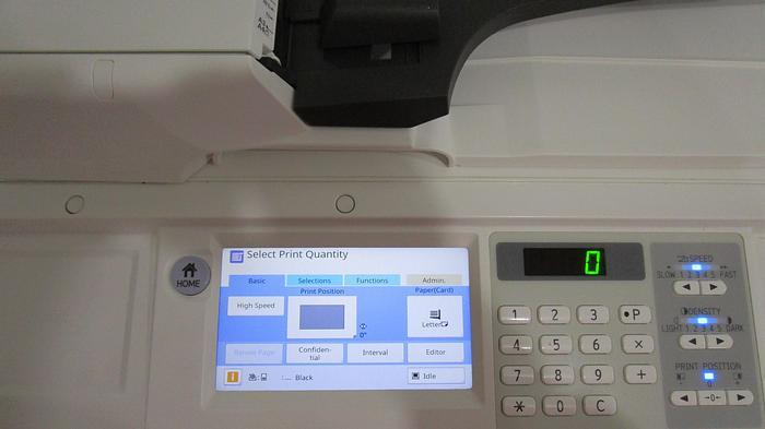 Riso SF 9450 150 PPM Digital Duplicator with Network Print