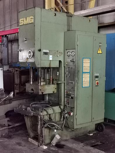 Gebraucht Hydraulische Einständerziehpresse SMG CSZ 63