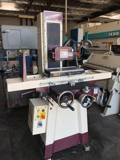 "Used 8"" x 18"", CHEVALIER ACCUGRIND 818SP, MAGNETIC CHUCK, MICROFEED [5141]"