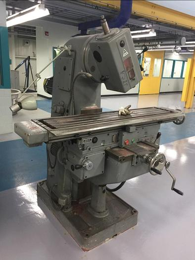 "12"" X 49"", TOS, FA3AV, VERTICAL MILLING MACHINE"