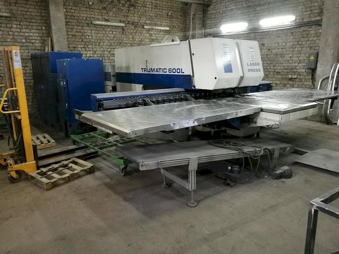 Used 2000 Trumpf Trumatic 600L Laser Punch Combination Machine