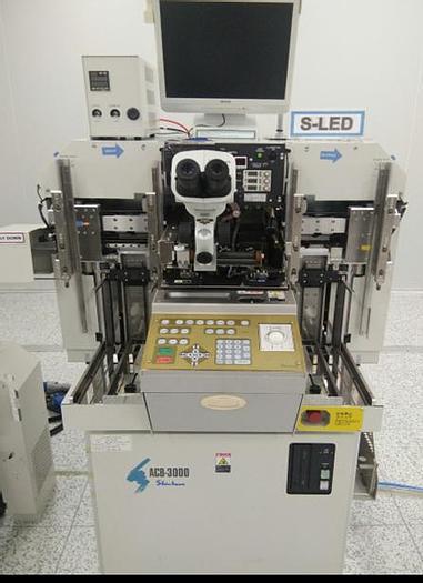 Used Shinkawa ACB-3000 Wire Bonder