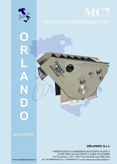 MC7 - NASTRINO RAFFREDDAMENTO / COOLING BIN MACHINE