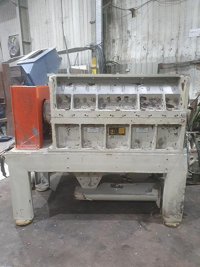 Used Pallmann Plastic Granulator