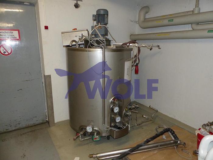 Gebraucht Edelstahl-Rührwerksbehälter ABAB RB-500