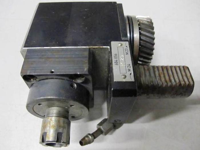 Gebraucht Werkzeughalter TRAUB 684856 angetr. WZ VDI 30