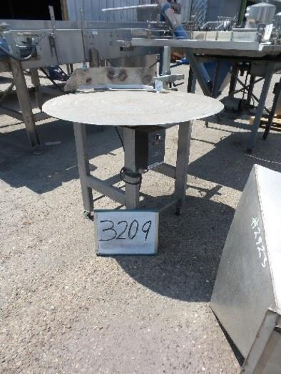 39'' Diameter Stainless Steel Rotary Turntable #3209