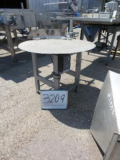 39'' Diameter Stainless Steel Rotary Turntable