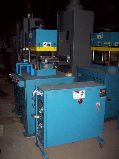 Used 60 Ton PRECO Model 1420-L-CCD 4-Post Down Acting Hydraulic Press