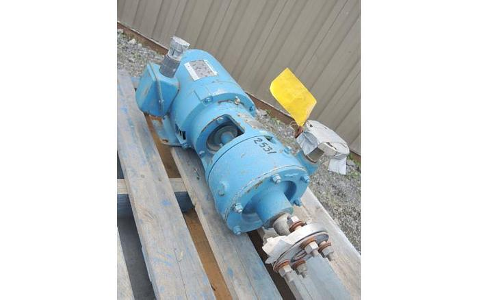 "USED CENTRIFUGAL PUMP, 1"" X 1.25"" INLET & OUTLET, STAINLESS STEEL"