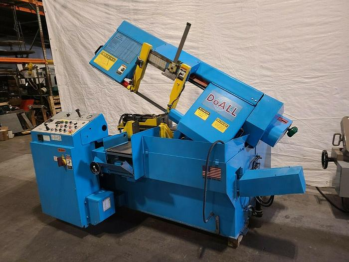 """Used DoAll Model C 305A Horizontal Bandsaw Automatic Feed 12"""" x 12"""""""