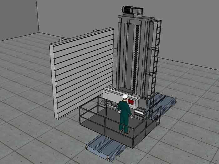 Technidrill / Carlton Model 5HB Precision Deep Hole Drilling & Boring Machine; Mfg. 1994