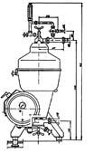 Wirówka do mleka LWG-47
