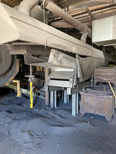 CARRIER HR-36120F MOLD DUMP CONVEYOR