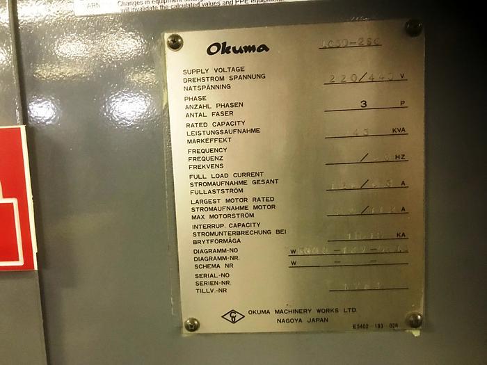 OKUMA LC30 2SC