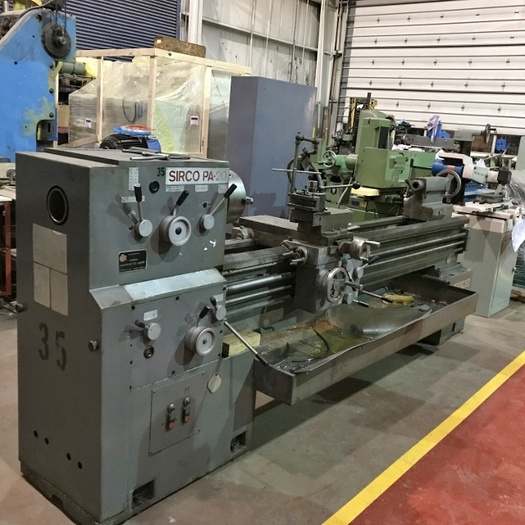 "20"" x 80"" Sirco Model PA20-4 Engine Lathe with 4"" spindle Bore 5611"