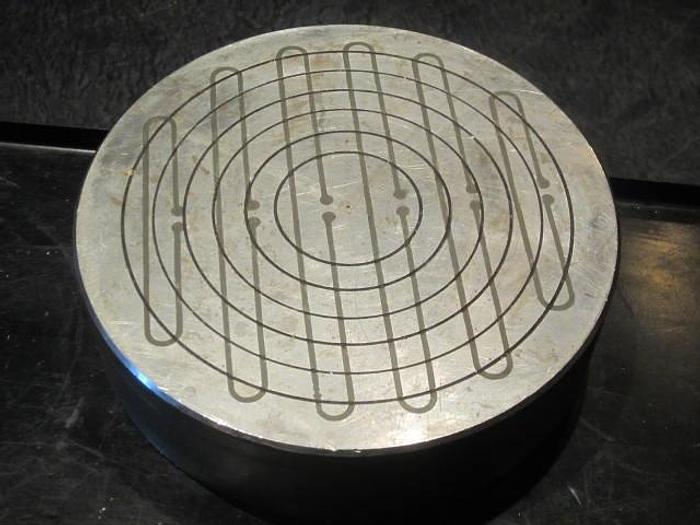 """Used Eclipse AX9/1C Round Permanent Magnetic Chcuk, 9"""""""
