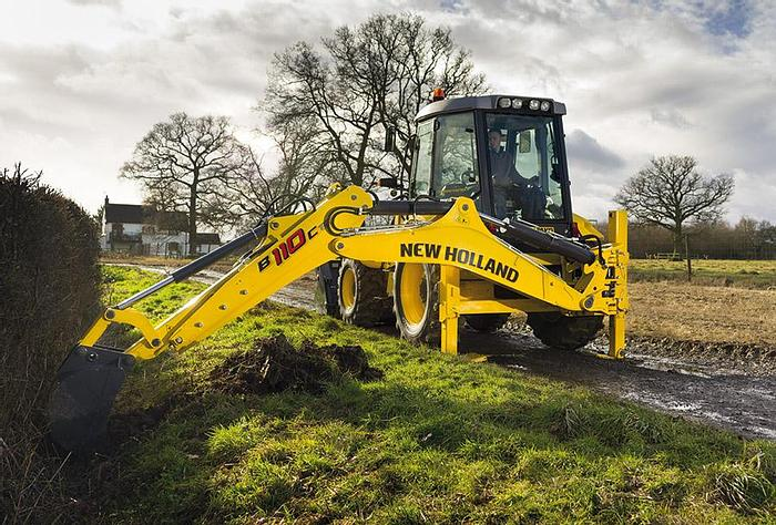 New Holland Construction New Holland Load-excavator combination