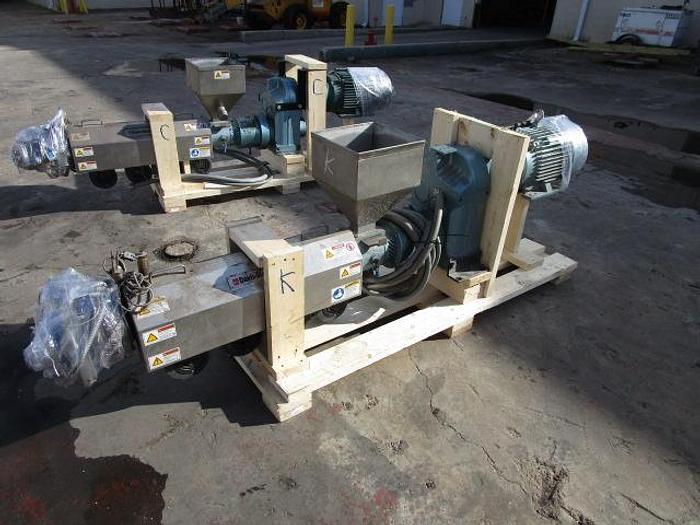 "Used 1 1/2"" Davis Standard Extruder 15 hp stock # 4756-05"