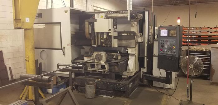 2007 2500 Watt Mazak Space Gear-U44 CNC Laser