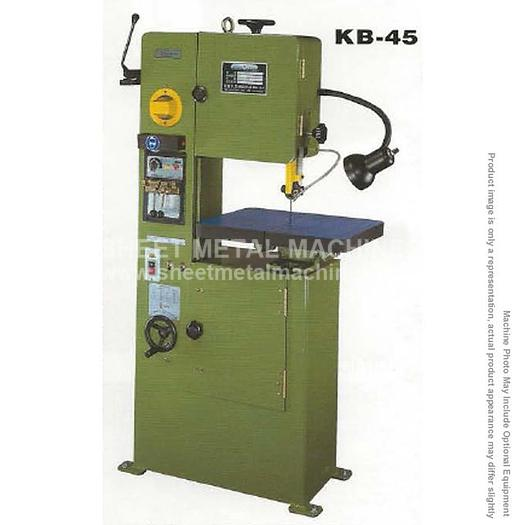 BIRMINGHAM Vertical Metal Cutting Band Saw KB-45
