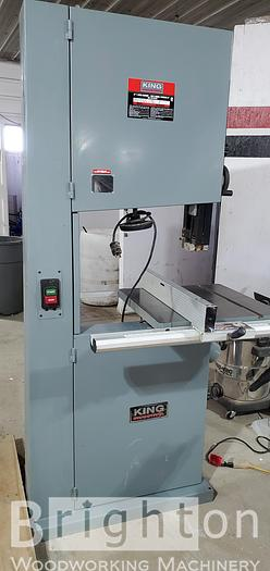 """Used 2008 King KC-2102FXR 21"""" 2 speed Used Band Saw"""