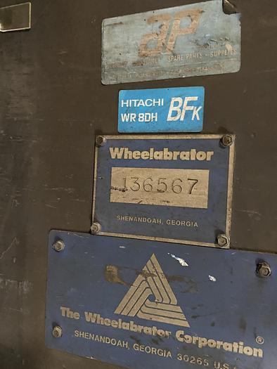 """1986 WHEELABRATOR MT-1500 60"""" Table Blast (On Hold)"""
