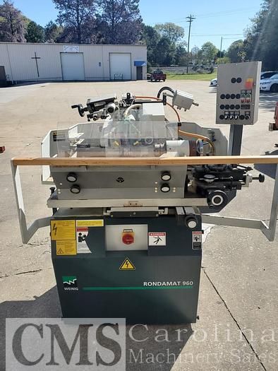 Used 2012 Weinig Rondamat 960 Profile Grinder