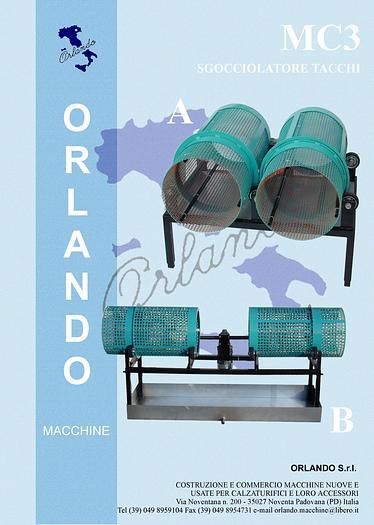 MC3 - SGOCCIOLATORE TACCHI / DRIPPING HEELS MACHINE