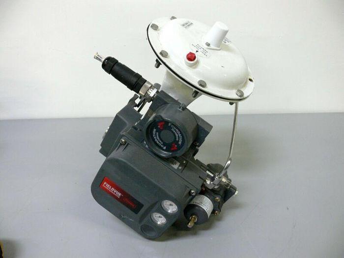 Used Fisher / Baumann 32-84041SA 316L Control Valve + Fieldvue DVC6010F Positioner