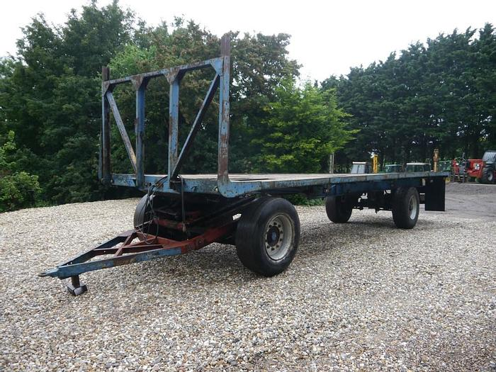Used Bale Trailer