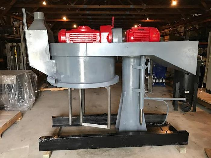 Used 150 GALLON DOUBLE PLANETARY MIXER WITH (11) MIX CANS (#9259)