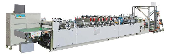 Used NEW 600mm Three Side Seal Pouch Machine