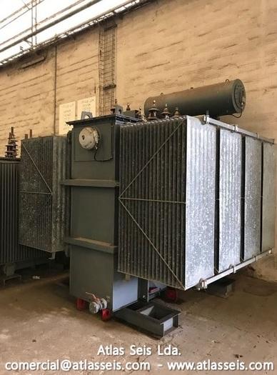Efacec Oil immersed 3 phase Power Transformer 7000 kVA / 15000 V to 11000 V / 50 Hz