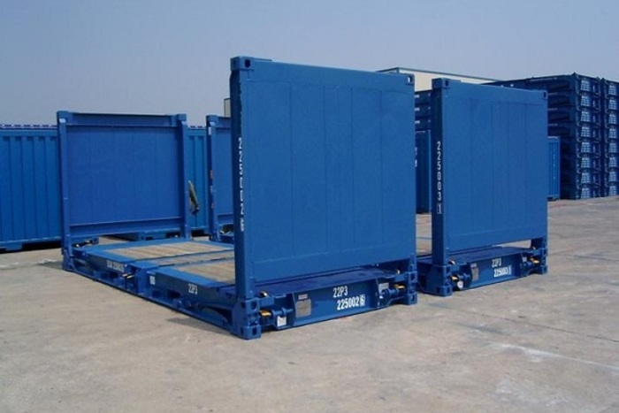"""20 'Container 8'6 """"Flush Folding"""