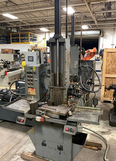 "Used PARMA HYDRAULIC VERTICAL HIGH SPEED BROACHING MACHINE 1 TON 24"" STROKE"