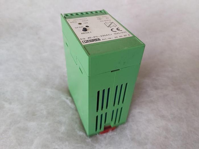 Gebraucht Stromversorgung, EG 45-PS-230AC/5DC/250, Phoenix,  gebraucht
