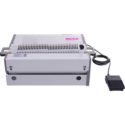 Renz DTP 340M Heavy Duty Desktop Binding Punch Machine