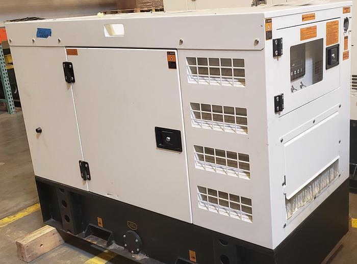 Kubota 8 KW Model # D1105-BG-EF01 Prime power generator with Sound Enclosure