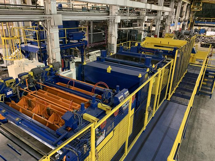 """Used 84"""" Automatic Feed Co. Blanking Coil Feedline"""