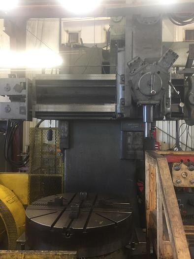 "48"" Webster Bennett Vertical Turret Lathe, 60"" Swing, 60"" Under Rail, 196 rpm, 25, Mimic Tracer, ID17496"