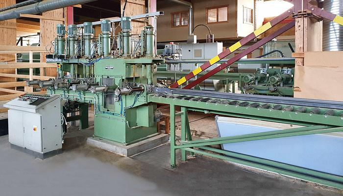 Used 1990 Markon MARKON log house drilling machine with undercutter